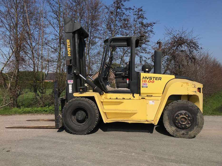 Hyster H10.00XM-6 1600 hrs only! - 2007 - image 2
