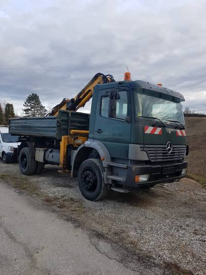 A.B.S. Mercedes Atego 1828 with crane - 2001