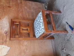Dinning chair hard wood at 6500 shillings