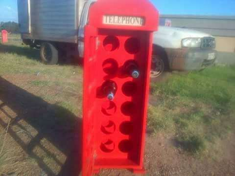 Red Telephone Booth display units Frankfort - image 7