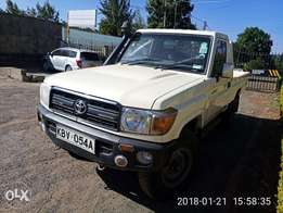 Toyota land cruiser locally assembled pickup 2012 model super clean