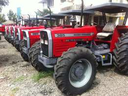 Fresh Assembled MF 385 4WD, optional, Free Plough, 18 Months Warranty