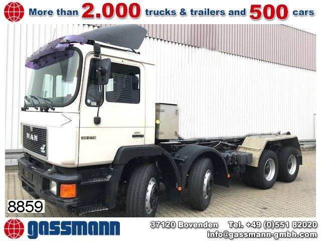 Turbo man 32.372 vf 8x4 bb, 6-zylinder - 1995