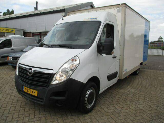 Opel Movano 2.3CDTI Koffer Ladebord Netto ?9450,= - 2014