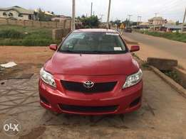 Tokunbo Toyota Corolla 2010 Red Color