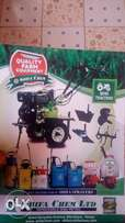 Mini tractor with all implements