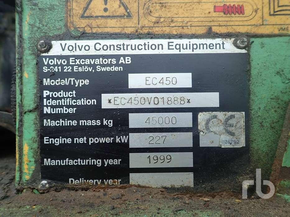 Volvo EC450 - 1999 - image 6