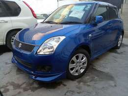 Suzuki swift KCM number 2010 model loaded with alloy rims, good m
