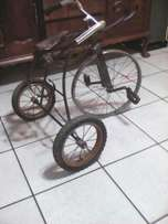 Penny farthing tricycle