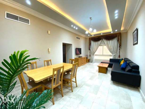 Unlimited electricity bills 2bhk apartment furnished for rent in juffa