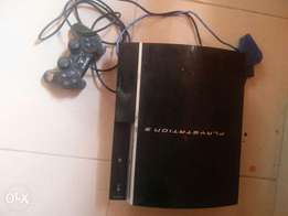 PS 3 with 5 Games inside & One Free Original Pad... Neatly Used