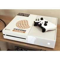 White xbox one 500gb with 3 games!#