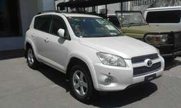 Toyota rav 4 2w and 4w drive 2009 with sunroof kck