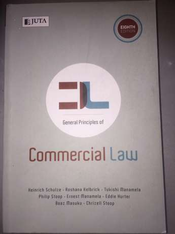 general aspects of commercial law Henrich Schulze CLA1503 Tongaat - image 1