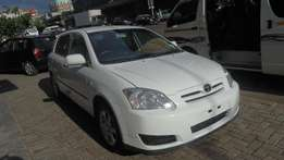 2006 Toyota Runx 160RS with 93000km