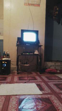 Stand and television, 14inch wegastar in good condition Pipeline - image 2