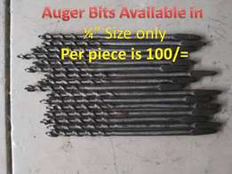 Auger Bits Available one size