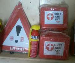 Car 2life saver, fire extinguisher, first aid free delivery within cbd