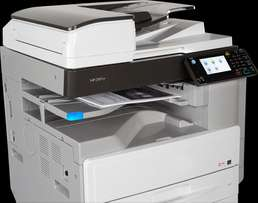 NEW RICOH COPIER cum printer MP 2501sp. Ideal for Schools n colleges