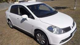 2010 Nissan Tida in mint condition.