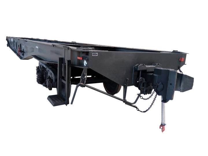 new vagon-platforma 13-9570 container chassis