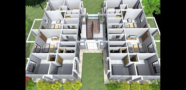 2 bedroom appartments for sale (urithi osten terrace) Thika - image 2