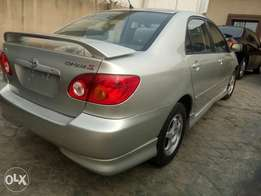 Foreign used Toyota corolla sport edition 2004