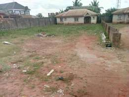 An arce of land for sale at micom bus stop egbeda at present a warehou