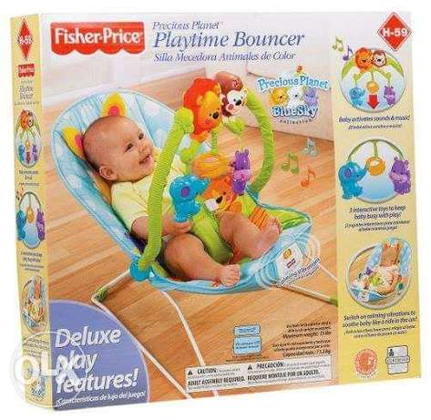Fisher-Price Precious Planet Playtime Deluxe Bouncer