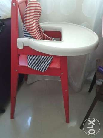 IKEA High Chair for Baby