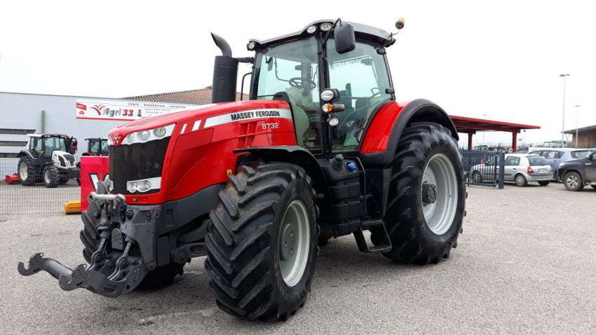 Massey Ferguson 8732 Dyna Vt Exclusive - 2015