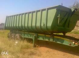30cube tipper sloper accident damage for sale..