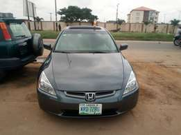 5 months used honda accord 05 tincan cleared