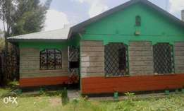 This is a 3 bedroom master en suite in Ongata Rongai.