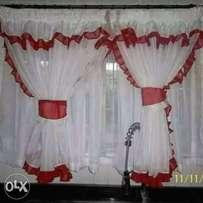 Curtains,mosquito net,pillow cases and door mats on a good price