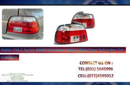 BMW E39 5 Series New Altezza Red Clear Tail Lights Set Price R1950
