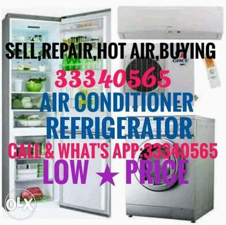 Ac Sale,Fixing,Service,Hot Air,Clean,Shift,Gas,Buying & Fridge Repair