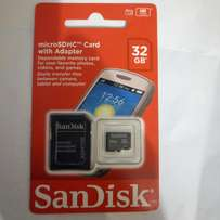 For 1k get an Original SANDISK 32GB MicroSDHC card. New and sealed.