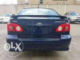 Tokunbo 2005 Toyota Corolla SPort Up 4Grabs