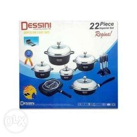 22pcs Dessini Heavy Duty Non-Stick Cookware set Nairobi CBD - image 6