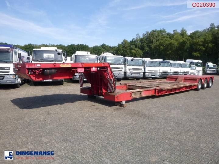 Nooteboom Semi-lowbed trailer OSDAZ-56 - 1992