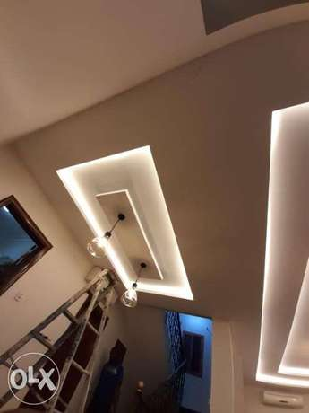 Painting and gypsum works