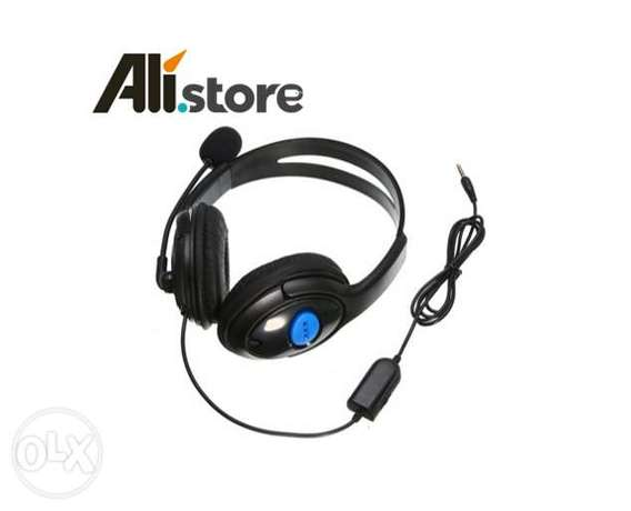 Sony PS4 Wired Gaming Headset + Microphone