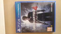 Barely used Uncharted 4: A thief's end (PS4)