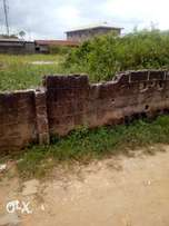 Half plot of land at Ogudu Orioke
