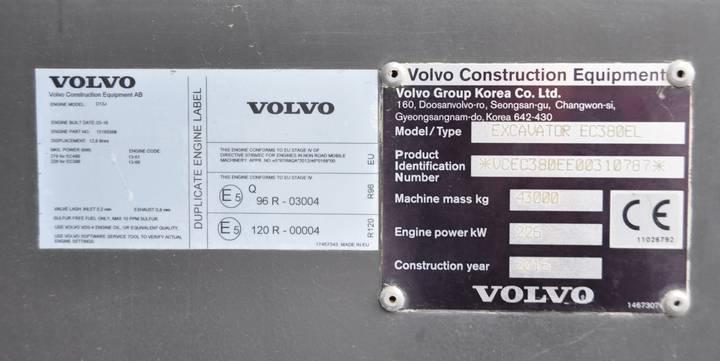 Volvo EC 380 EL - 2016 - image 7