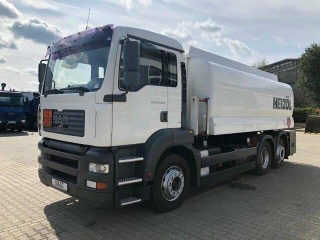 MAN TGA 26.430 6x2 Eur3 Tankwagen L & F 19.500 L ADR - 2003