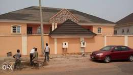 Semi detached 4 bedroom duplex with bq at Aerodrome GRA Ibadan