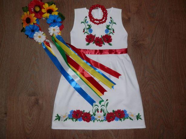 df5df54aac6e1c Вышитое платье вишите плаття ручна робота 104 р. 3-4 роки Полтава -  зображення