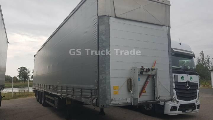 Schmitz Cargobull SCB S3T, Varios, 385/55 22.5, Liftachse - 2013